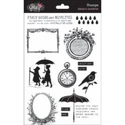Glitz Design Dance in Sunshine Clearstamps