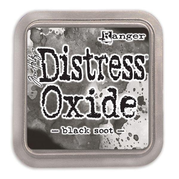 Tim Holtz Distress Oxide Pad Black Soot