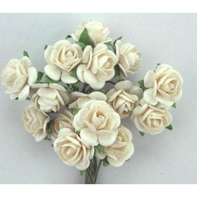 Roses White 1,5 cm