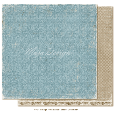 Maja Design Vintage Frost Basics 21th of December