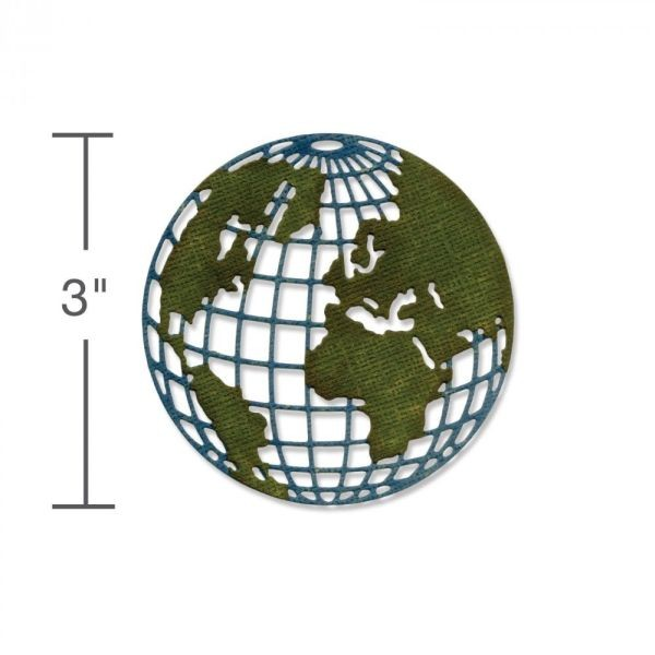Sizzix Tim Holtz Alterations Thinlits Mini Globe
