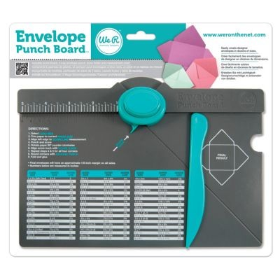 WeR Memory Keepers Envelope Punch Board