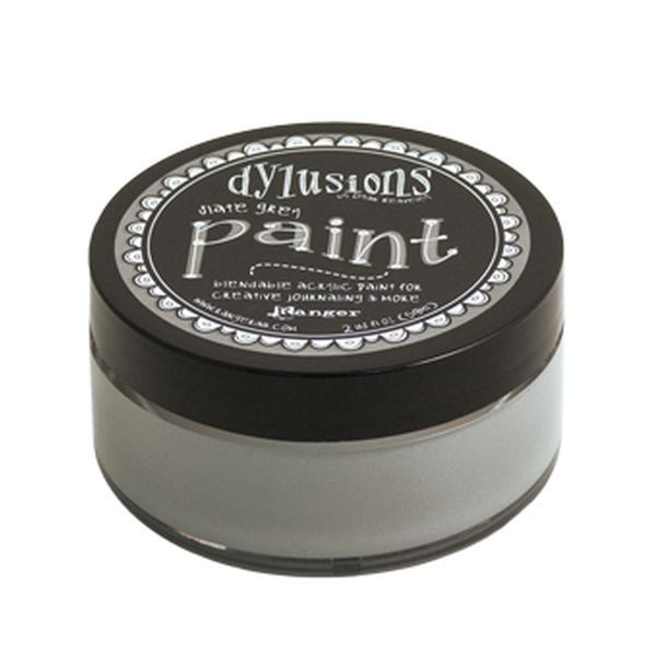 Dylusions Paint Slate Grey