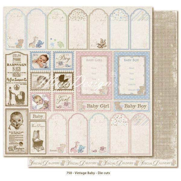 Maja Design Vintage Baby Die-Cuts