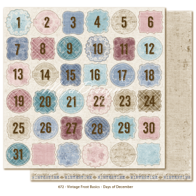 Maja Design Vintage Frost Basics Days of December