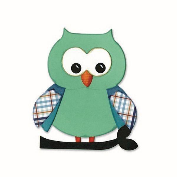 Sizzix Bigz Owl No. 5 by Lori Whitlock