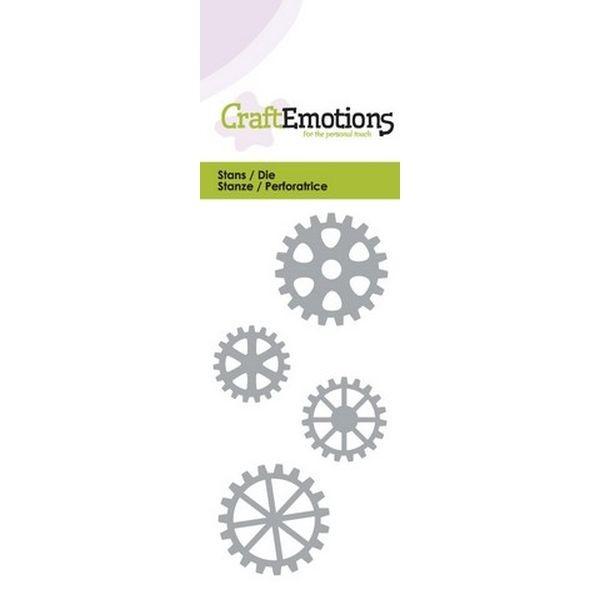Craft Emotions Dies Gears