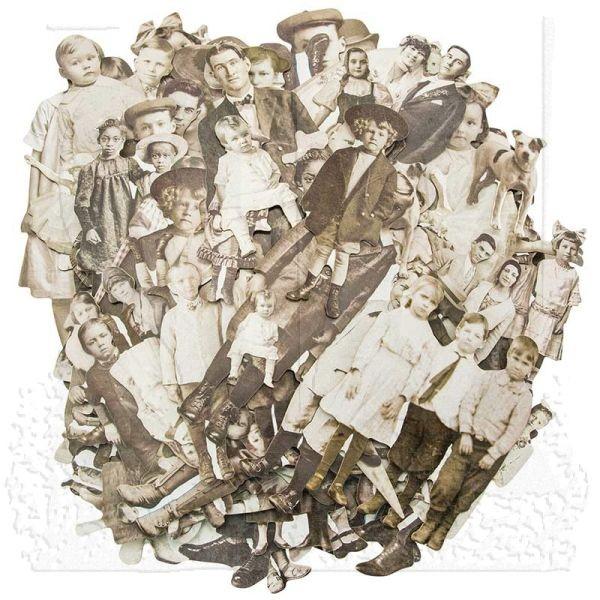 Tim Holtz Paper Dolls