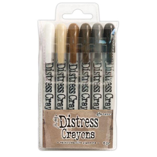Tim Holtz Distress Crayons Set 3
