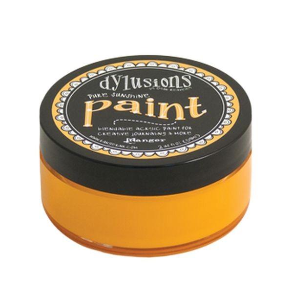 Dylusions Paint Pure Sunshine