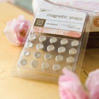 Basic Grey Magnetic Snaps small