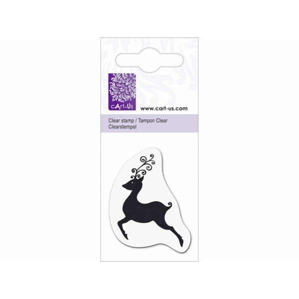 cArt-Us Mini Clearstamps Reindeer