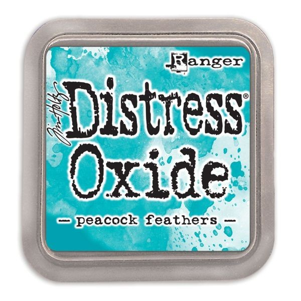 Tim Holtz Distress Oxide Pad Peacock Feathers