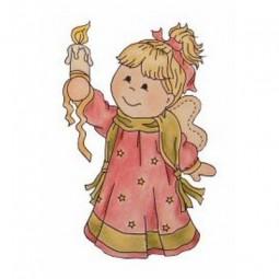 Bildmalarna Mimosa Christmas Angel