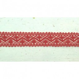 Lace Ribbon Red