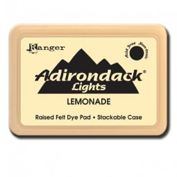 Adirondack Dye Ink Pad Lights Lemonade