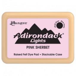 Adirondack Dye Ink Pad Lights Pink Sherbet