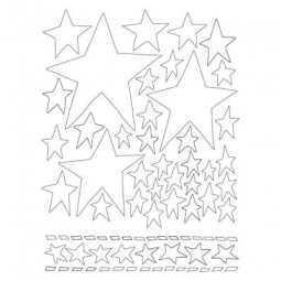 Dylusions Stencils 5x8 Starry Starry Night