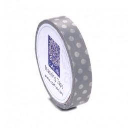 cArt-Us Masking Tape Punkte Grau