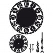 Marianne D Craftables Clock