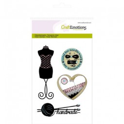 Craft Emotions Clearstamps Couture