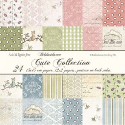 Bildmalarna Paperpack Cute Collection
