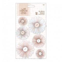 Papermania Capsule Oyster Blush Pinwheels