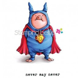 Stamping Bella Parker the Pig
