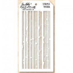 Tim Holtz Layering Stencils 004 Stripes