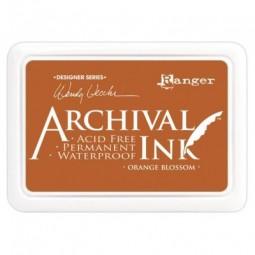 Ranger Archival Ink Pad by Wendy Vecchi Orange Blossom