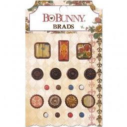 BoBunny Press Provence Brads