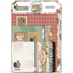 BoBunny Press Provence Misc Me Journal Contends