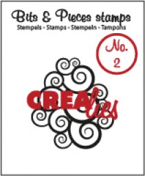 CreaLies Bits & Pieces Clearstamps No. 02 Spirals