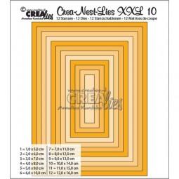 CreaLies Crea-Nest-Lies XXL No. 10 Basic Rectangles