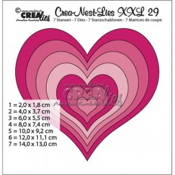 CreaLies Crea-Nest-Lies XXL No. 29 Hearts