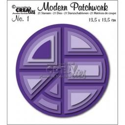 CreaLies Modern Patchwork No. 01 Circle