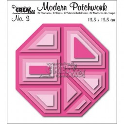 CreaLies Modern Patchwork No. 03 Octagon
