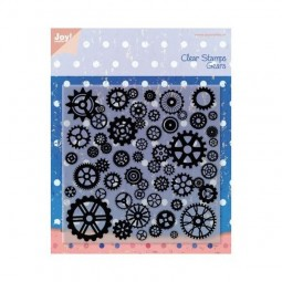 Joy! Crafts Clear Stamps Noor Design Gears