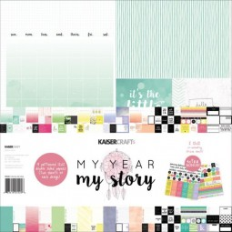 Kaisercraft Paper Pack 12x12 My Year, my Story