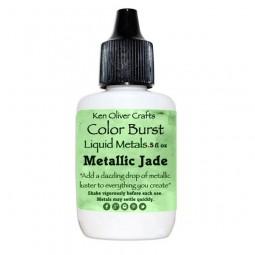 Ken Oliver Crafts Color Burst Liquid Metals Metallic Jade