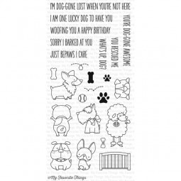 MFT Bundle Clearstamps & Dies Lucky Dog
