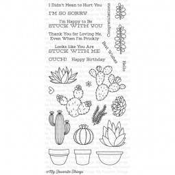 MFT Clearstamps Sweet Succulents