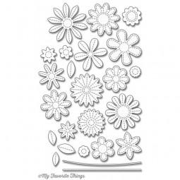 MFT Die-Namics Stitched Flowers
