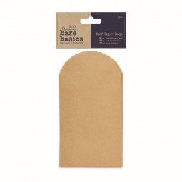 Papermania Bare Basics Kraft Paper Bags