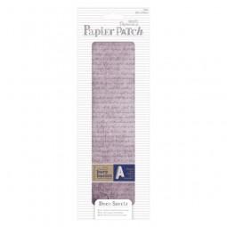 Bare Basics Papier Patch Deco Sheets Old Script