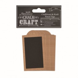 Papermania Chalk Kraft Chalkboard & Kraft Parcel Tags