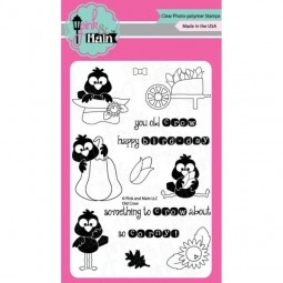 Pink & Main Clearstamps Old Crow