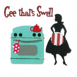Sizzix Thinlits Gee, that´s Swell Kitchen