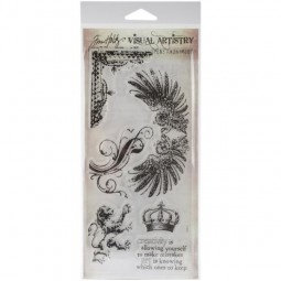 Tim Holtz Clearstamps Regal Flourish