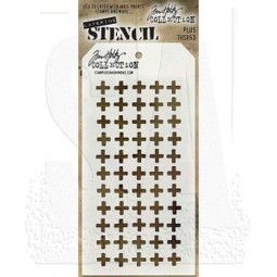Tim Holtz Layering Stencils 053 Plus